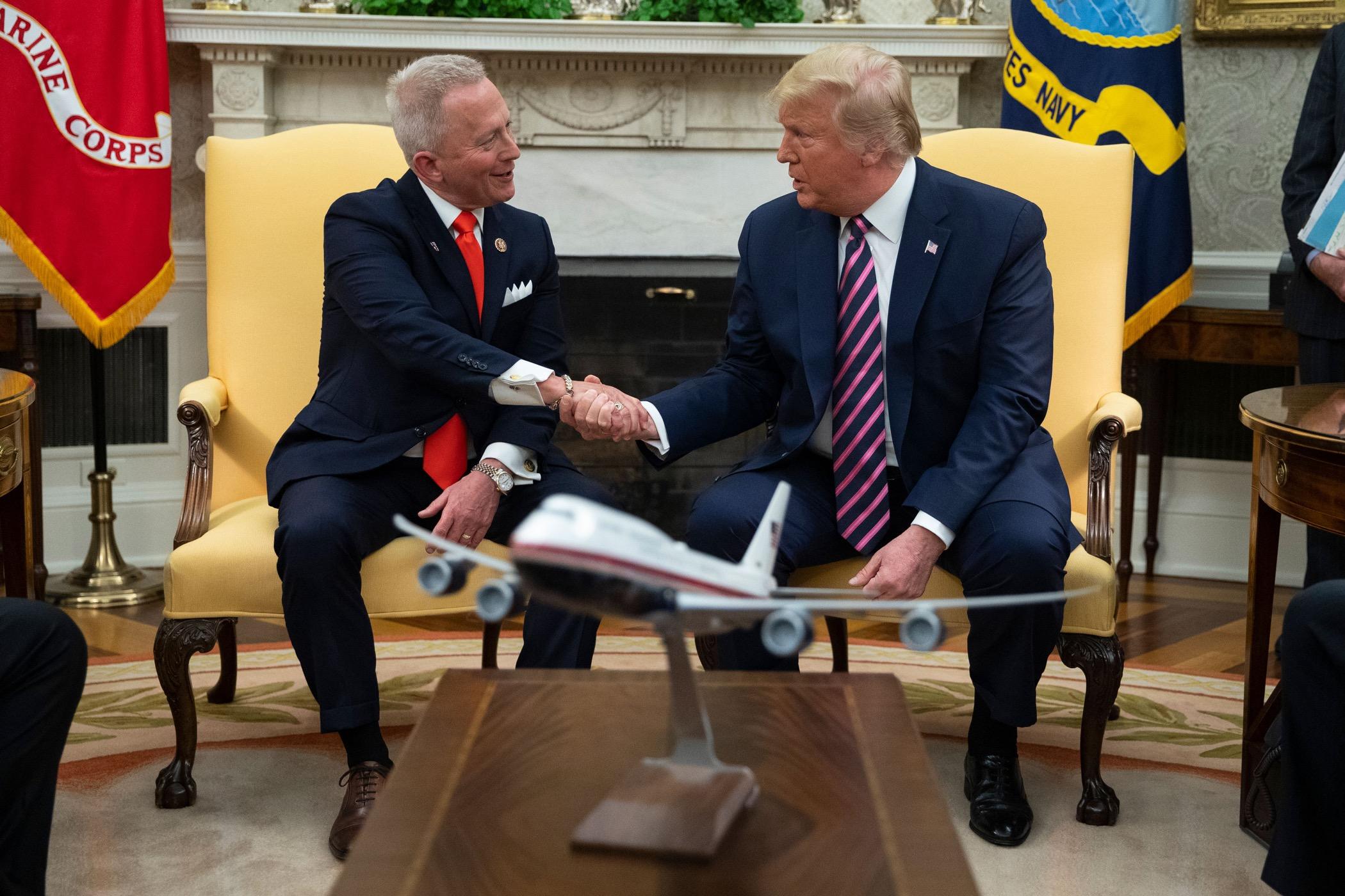 Rep. Jeff Van Drew and President Donald Trump