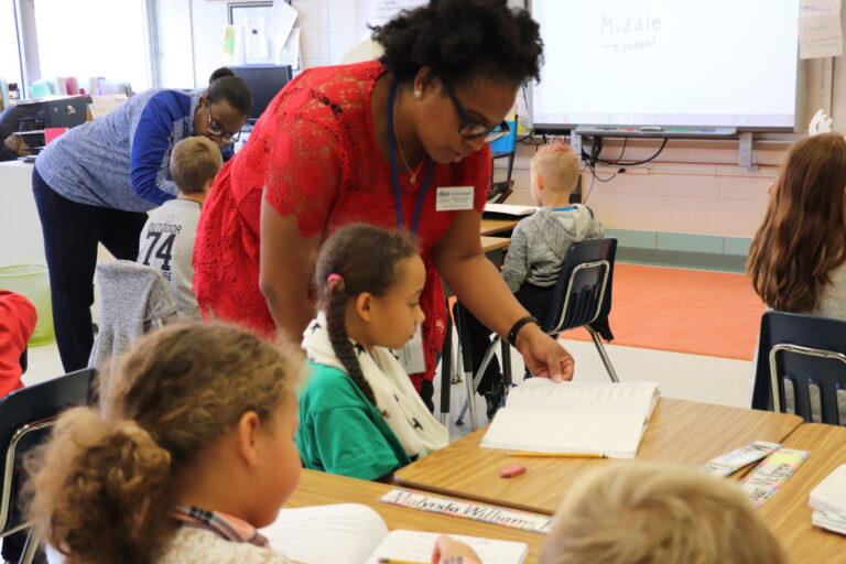 Stephanie Ingram, president of the state teachers union