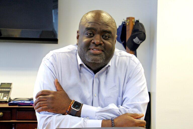 Philadelphia's First Deputy Managing Director Tumar Alexander. (Emma Lee/WHYY)