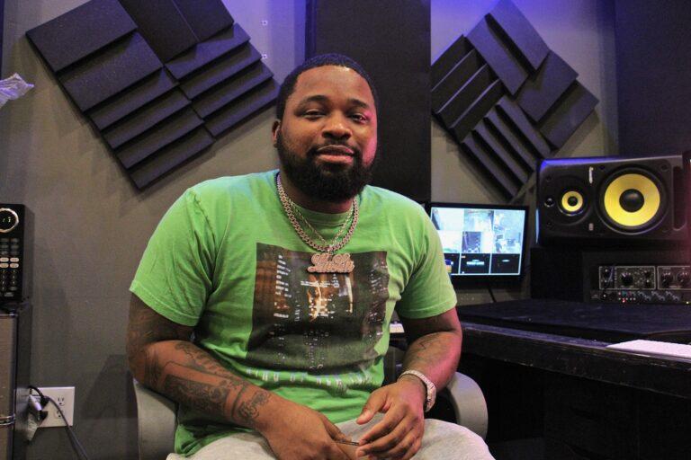 Philadelphia rapper Louie V Gutta. (Emma Lee/WHYY)