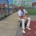 "Darryl ""Cornbread"" McCray started writing graffiti in his Philadelphia neighborhood in the 1960s. (Kimberly Paynter/WHYY)"