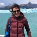 Melissa Mazur, hiking on vacation in Patagonia in January 2020, months before getting sick. (Courtesy of Melissa Mazur)