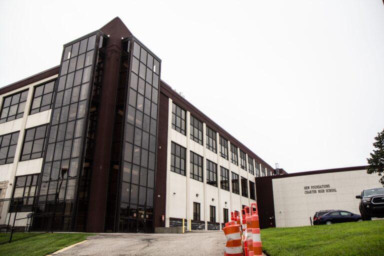 New Foundations Charter School in Northeast Philadelphia. (Kimberly Paynter/WHYY)