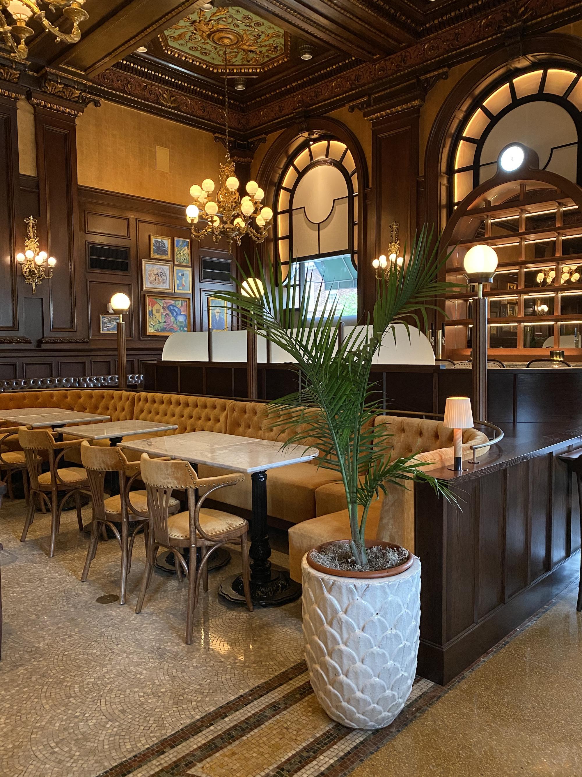 LeCav restaurant at Wilmington's Hotel DuPont