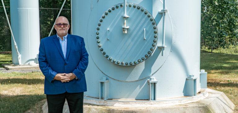 Mark Lavenberg (Courtesy of Trenton Water Works)