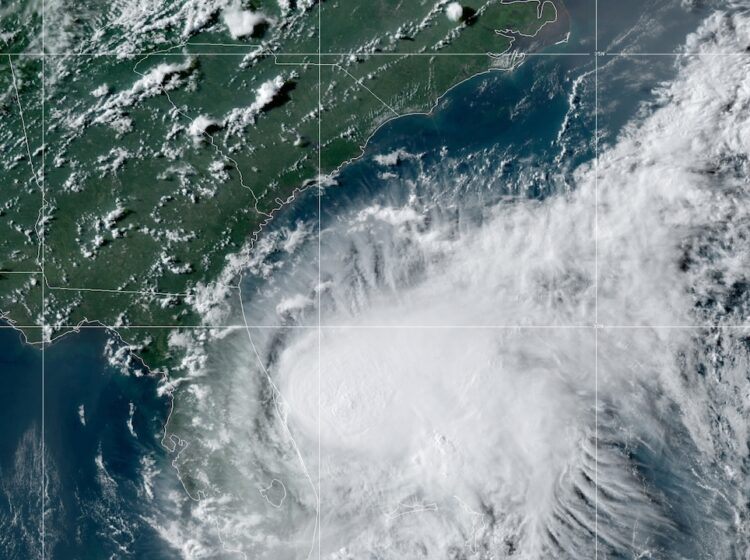 Tropical Storm Isaias
