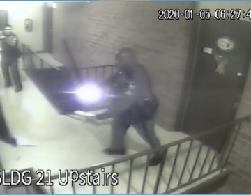 Surveillance footage from  Sunday January 5, 2020 in Milford, Del. (Delaware DOJ)