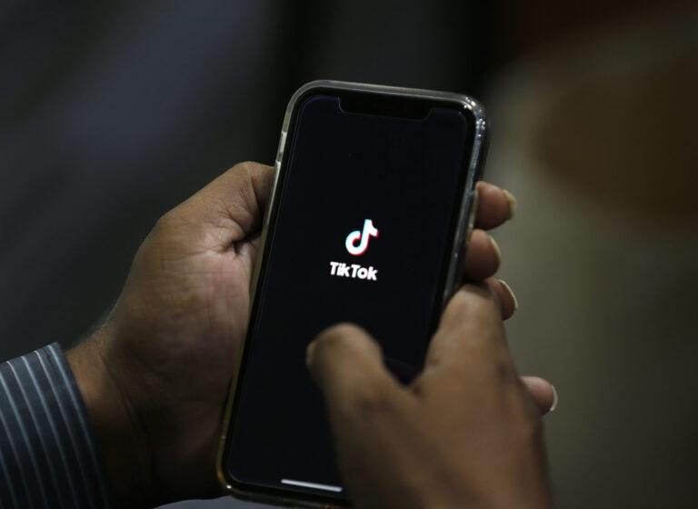 Icon for the smartphone app TikTok. (Anjum Naveed/AP Photo)