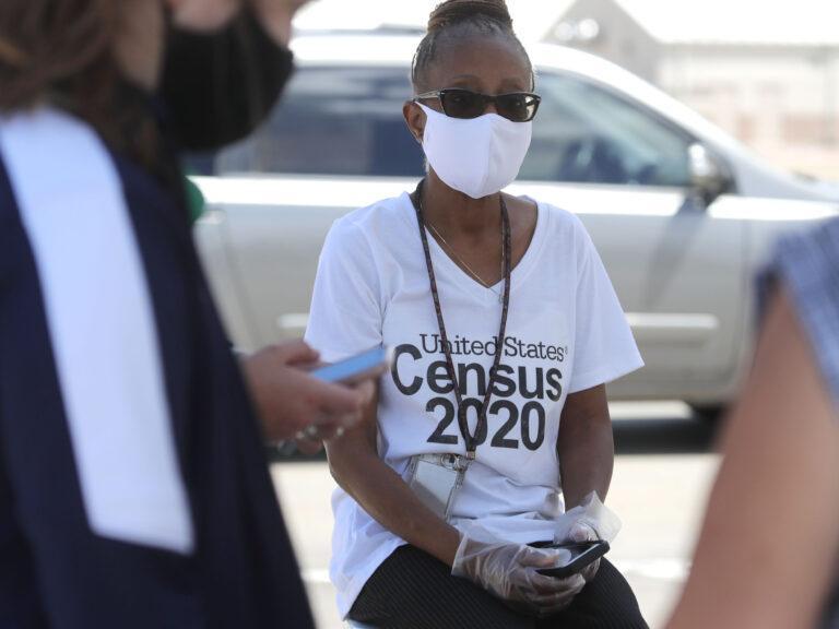 Census worker Jennifer Pope