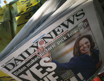 Tribune Publishing is closing several of its newsrooms, including the one at New York's Daily News, as the pandemic forces journalists to work remotely. (Bebeto Matthews/AP)