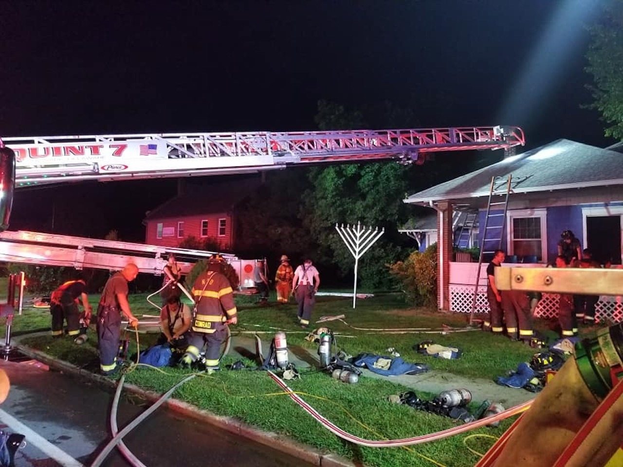 Fire set to Chabad Center at the University of Delaware