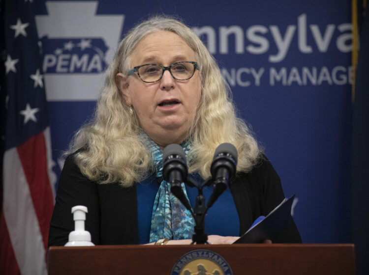 Pennsylvania Secretary of Health Dr. Rachel Levine