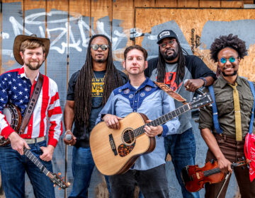 Musicians from the band Gangstagrass