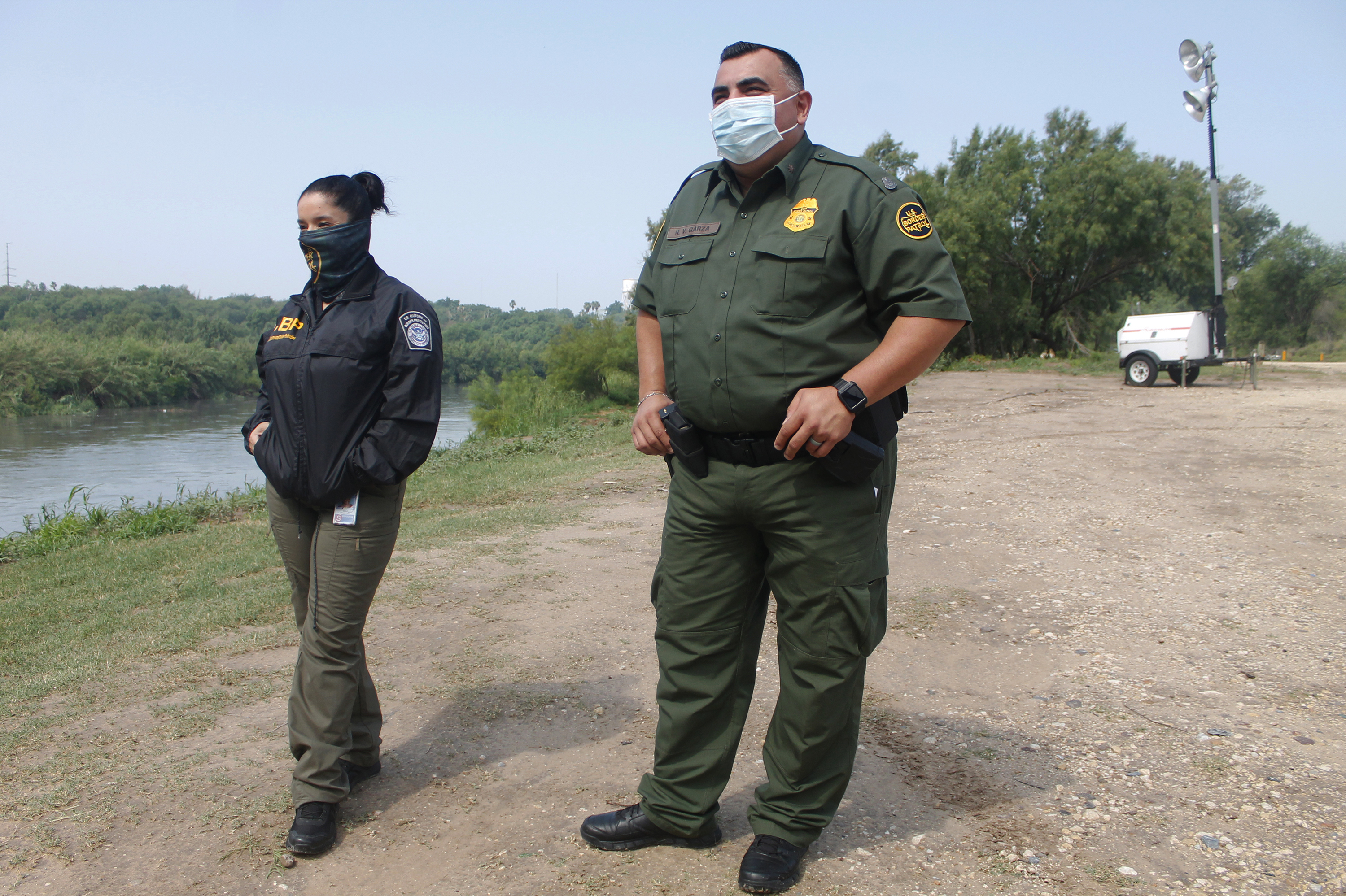 "Border Patrol agent Rafael Garza says an order from the CDC that closed the border to migrants and other travelers without valid travel documents, citing ""the danger to the public health,"" is working. ""It is a good tool that the U.S. government is using to mitigate the spread"" of coronavirus, he said in an interview with Texas Public Radio."