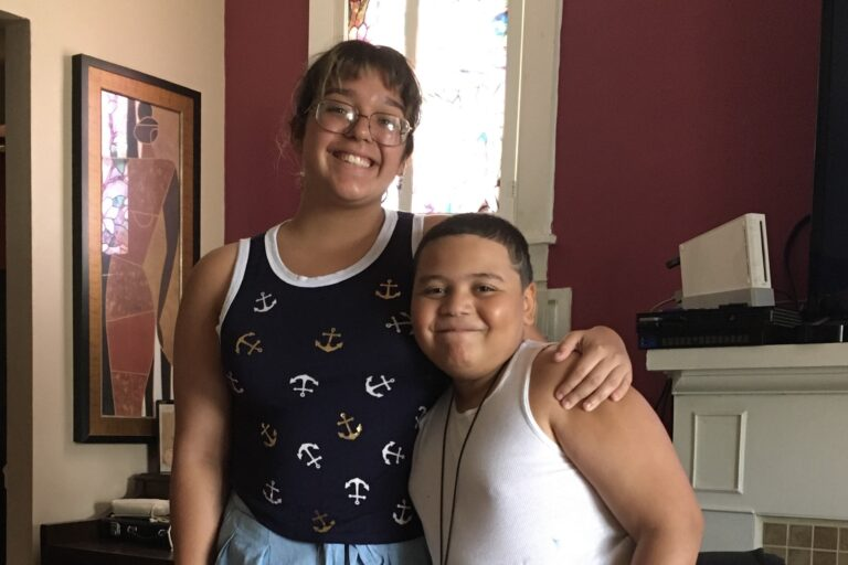 Kaitlyn Rodriguez (left) and her cousin Nicholas Gonzales (right). (Courtesy Kaitlyn Rodriquez)