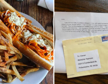 Memphis Taproom's erstwhile spaghetti sandwich; anonymous letter (Memphis Taproom; Ken Correll)