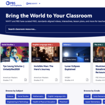 PBS LearningMedia homepage