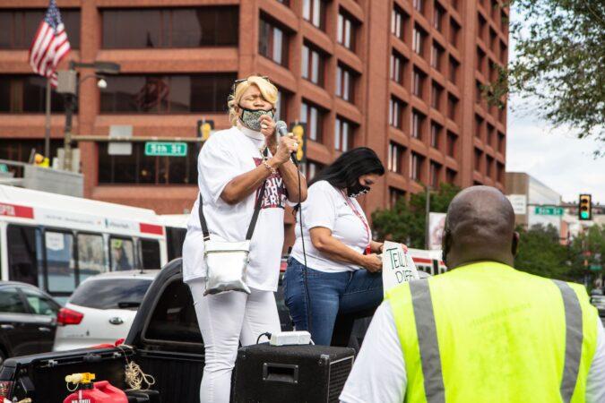 Reverend Jeanette Davis, an anti-gun violence advocate