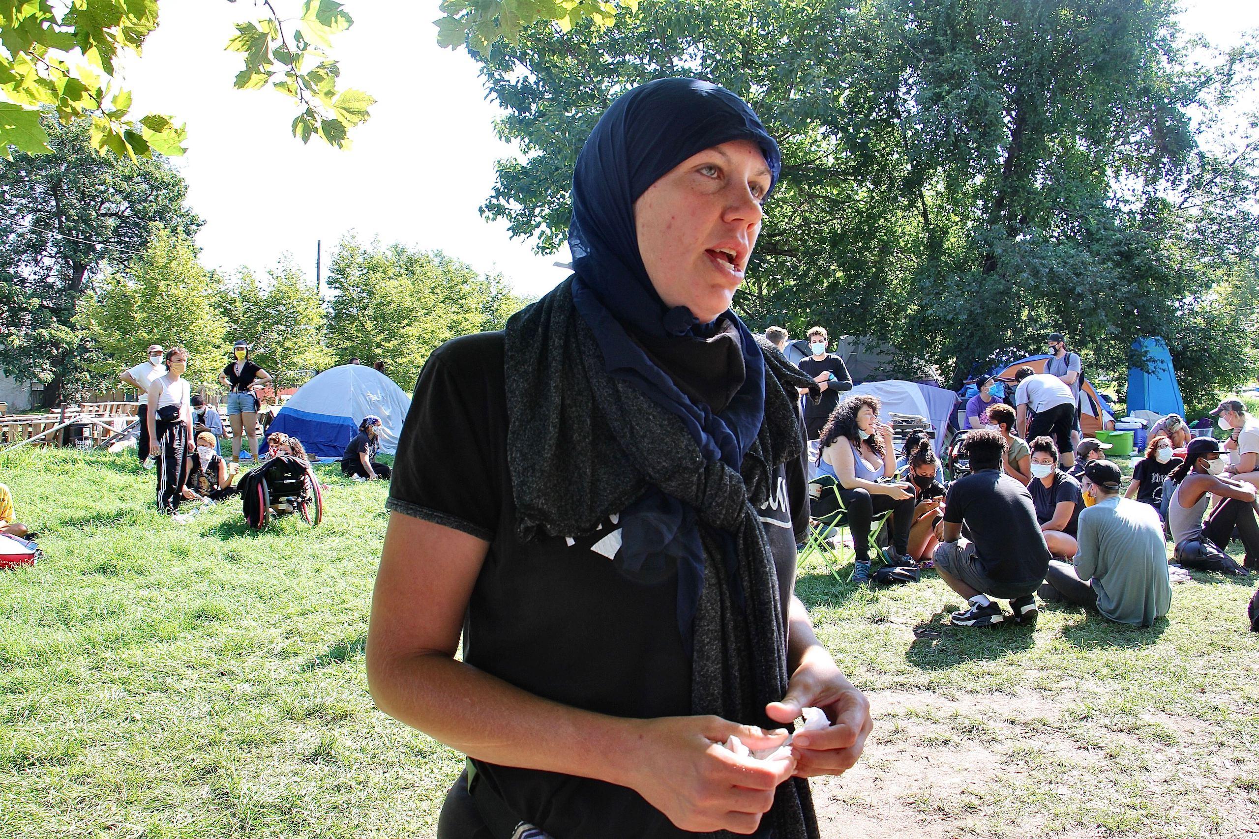 Jennifer Bennetch of Occupy PHA