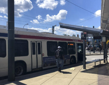 The Route 24 bus runs from the Frankford Transportation Center to past the edge of Northeast Philadelphia. (Michaela Winberg/Billy Penn)