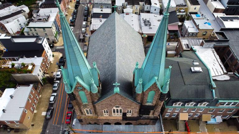 St. Laurentius Church spires