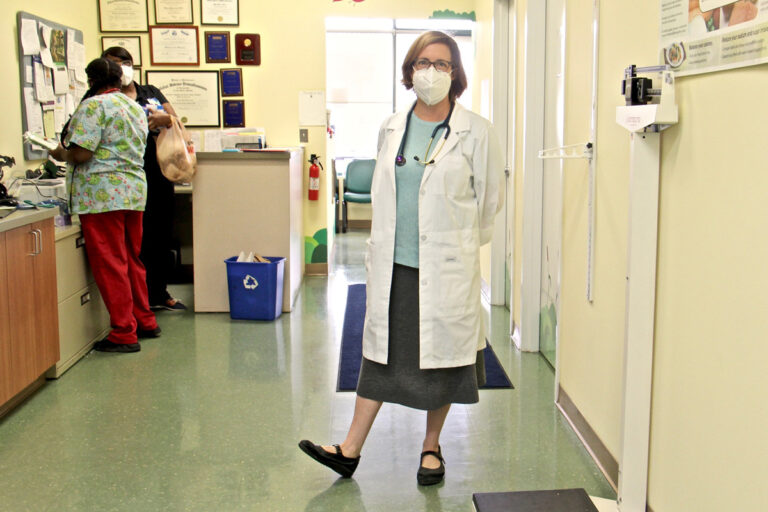 Dr. Alexis Lieberman. (Emma Lee/WHYY)