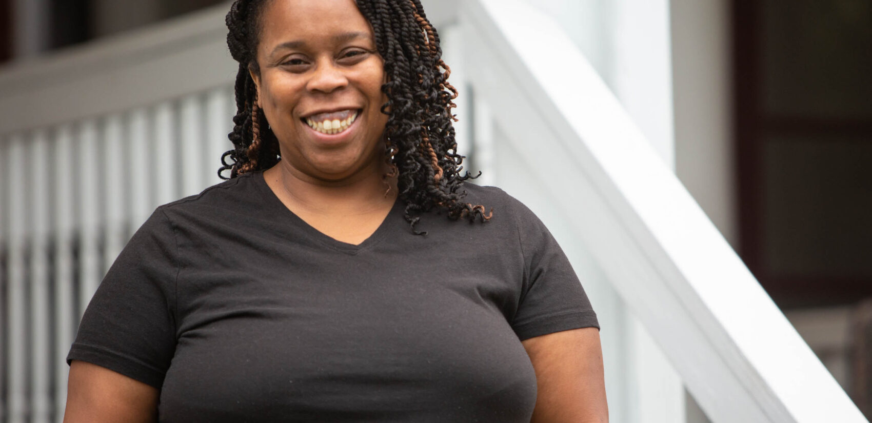 Reynalda Kilpatrick-Ray is a 5th and 6th grade reading teacher at Mastery Charter's Mann Elementary in West Philadelphia.(Emily Cohen for WHYY)