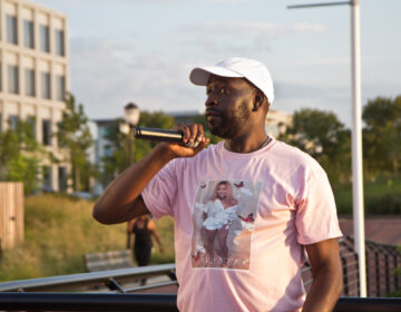Avante Reynolds' uncle Ernest Bowen remembers his niece, who was killed in a hit-and-run, as a faithful woman with a big heart. (Kimberly Paynter/WHYY)