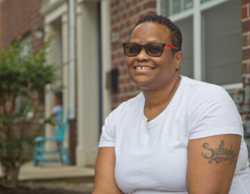 Stephannia Swain is a cook who was laid-off due to the pandemic. (Kimberly Paynter/WHYY)