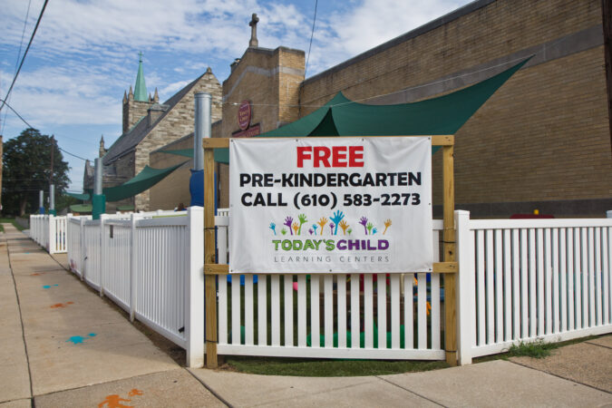 Today's Child day care in Clifton Heights, Pa.