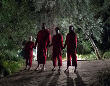 This image released by Universal Pictures shows a scene from Jordan Peele's film,