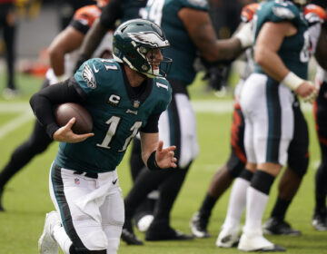 Philadelphia Eagles' Carson Wentz