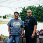 Marvin and Linda Worthy have been fighting for racial justice for years in Chambersburg, Pa. They've been encouraged to see the protest movement of the summer garner significant attention locally.(Dani Fresh/WHYY)