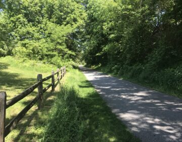 The Chester Valley Trail in Montgomery and Chester counties. (@CVTrail/Twitter)