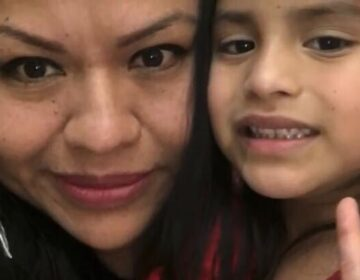 Veronica Perez and her five-year-old daughter Aurora López. (Courtesy of Veronica Perez)