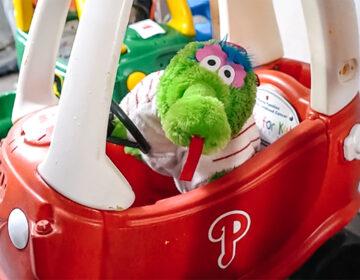 Phillie Phanatic toy