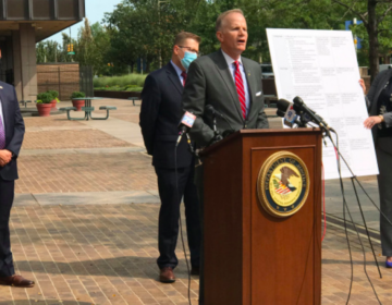 U.S. Attorney Williams McSwain on Sept. 14, 2020. (Dan Lee/NBC10)