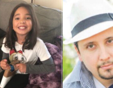 Giselle Torres was allegedly abducted by her father, Juan Pablo Torres, right, from a home in Cheltenham Township, Pennsylvania, Sept. 25, 2020. (NBC10)