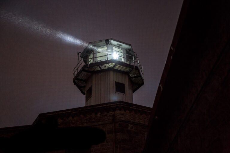 """""""Night Tours"""" at Eastern State Penitentiary"""