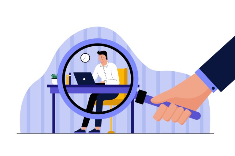 The pandemic has accelerated a disconcerting trend: Workplace-surveillance software. (Alphavector / Big Stock Photo)