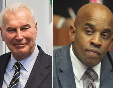Wilmington Mayor Mike Purzycki and Councilman Ernest