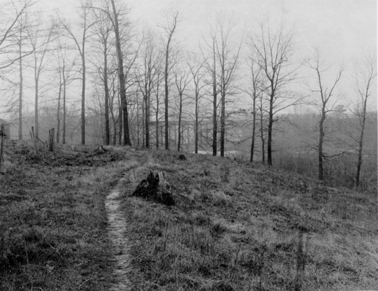 This photo of the area near Newport where Washington and the Continental Army had their encampment was taken in the late 1800s