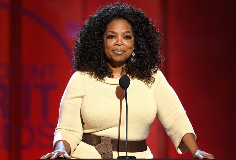 Oprah Winfrey at an event for 30th Annual Film Independent Spirit Awards, 2015 ( Kevork Djansezian/Getty Images)