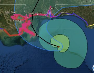 Sally is forecast to make landfall on the Gulf Coast