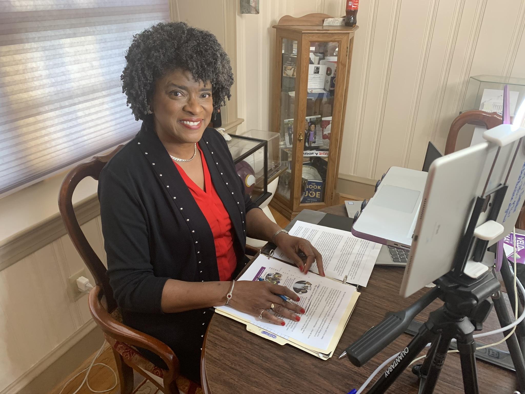 Wilmington Treasurer Velda Jones-Potter
