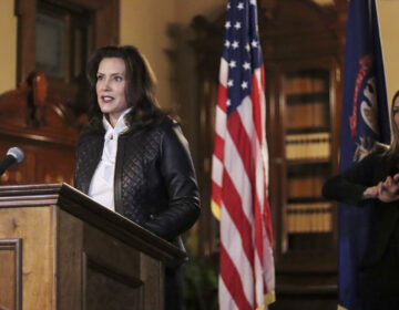 The governor of Michigan, Gretchen Whitmer