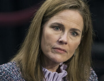 Supreme Court Justice nominee Amy Coney Barrett testifies before the Senate Judiciary Committee