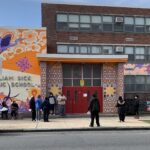 William Dick School in North Philadelphia does not fare well in meeting the district's minimum ventilation standards. (The Notebook)