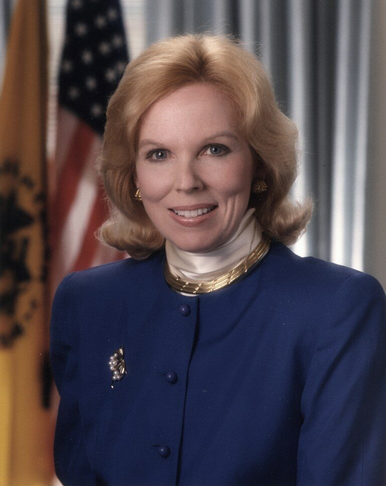 Dr. Bernadette Healy was appointed as the first woman director of the National Institutes of Health (1991-1993). Dr. Healy was a distinguished cardiologist and a dedicated and caring physician. She died in August 2011. (NIH History Office)