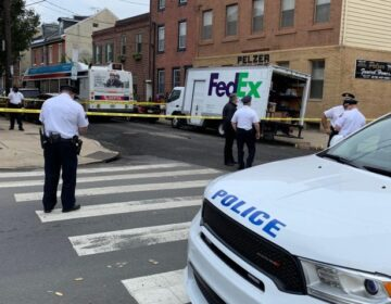 A FedEx driver was shot in Queen Village